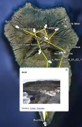 Geotagging mit Blickrichtung