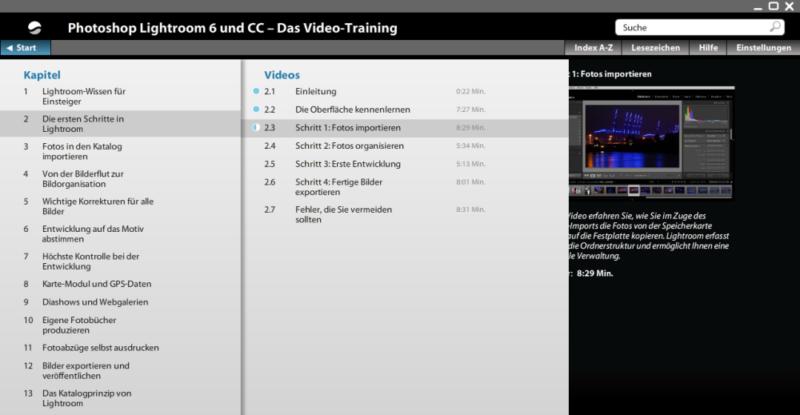 Screenshot 01-Video-Training
