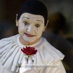 Clown beim Karneval in Venedig