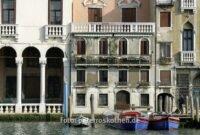 Häuser fotografiert von Vaporetto