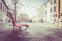 Venedig im Winter, einer der schönen Plätze / Piazze