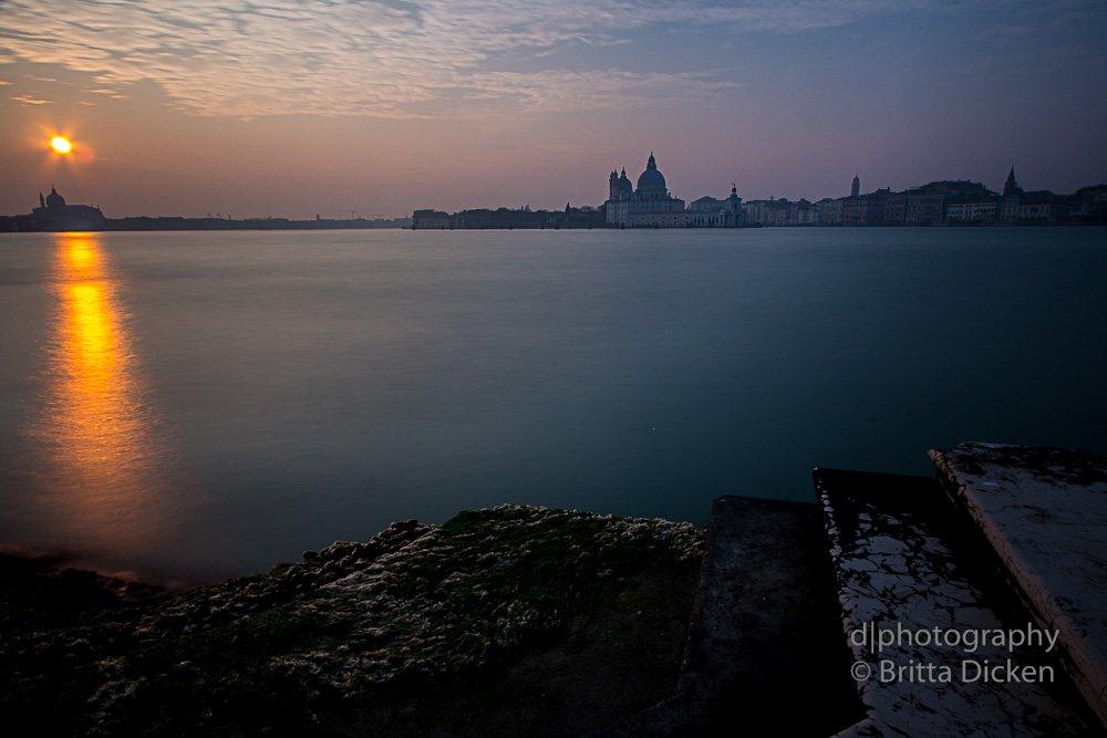 Langzeitbelichtung in Venedig