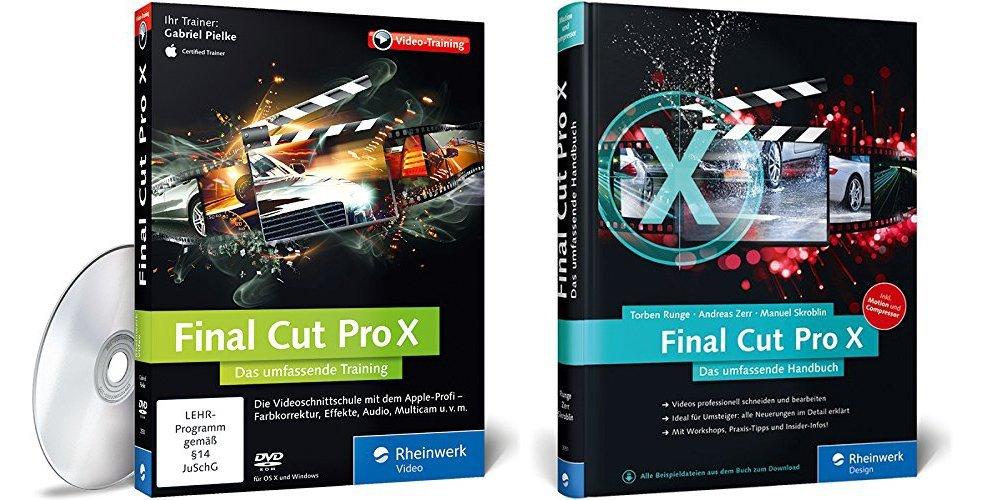 Final Cut Pro X Video und Buch Rheinwerk Verlag