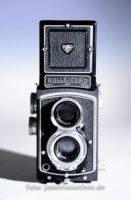Analoge Mittelformat-Kamera Rolleicord 6x6
