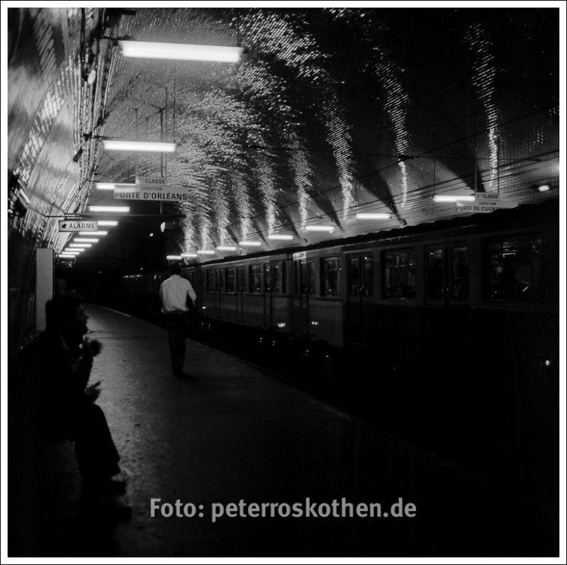 Paris, Metro ca. 1980 - © Peter Roskothen Fotograf