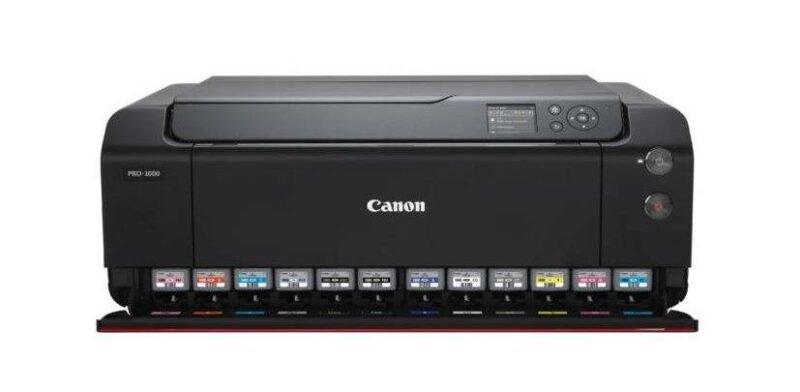 Canon PROGRAF PRO-1000 mit 12 Tinten für Fotodrucke