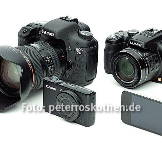 Welche Kamera soll ich kaufen - Kameras sind dumm