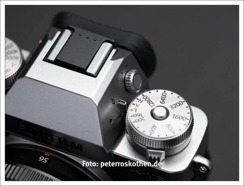 Testbericht Fujifilm X-T3 - Neues Dioptrieneinstellrad