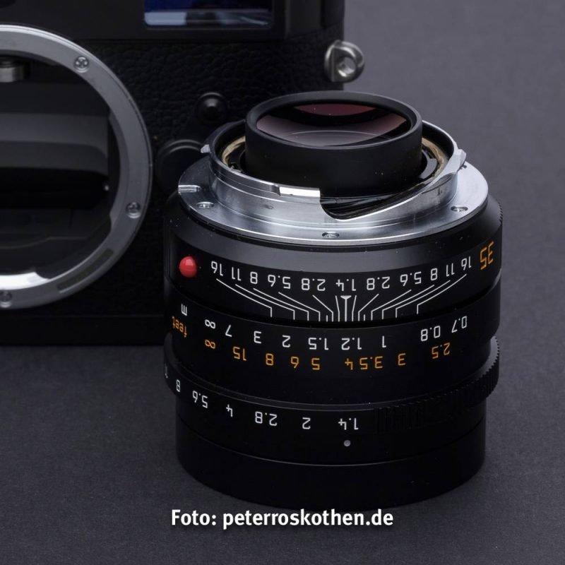 Test Leica Summicron-M 35mm F/1.4