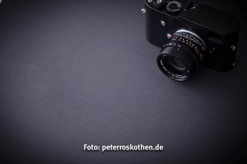 Test Schwarzweiß Kamera Leica M Monochrom Typ 246