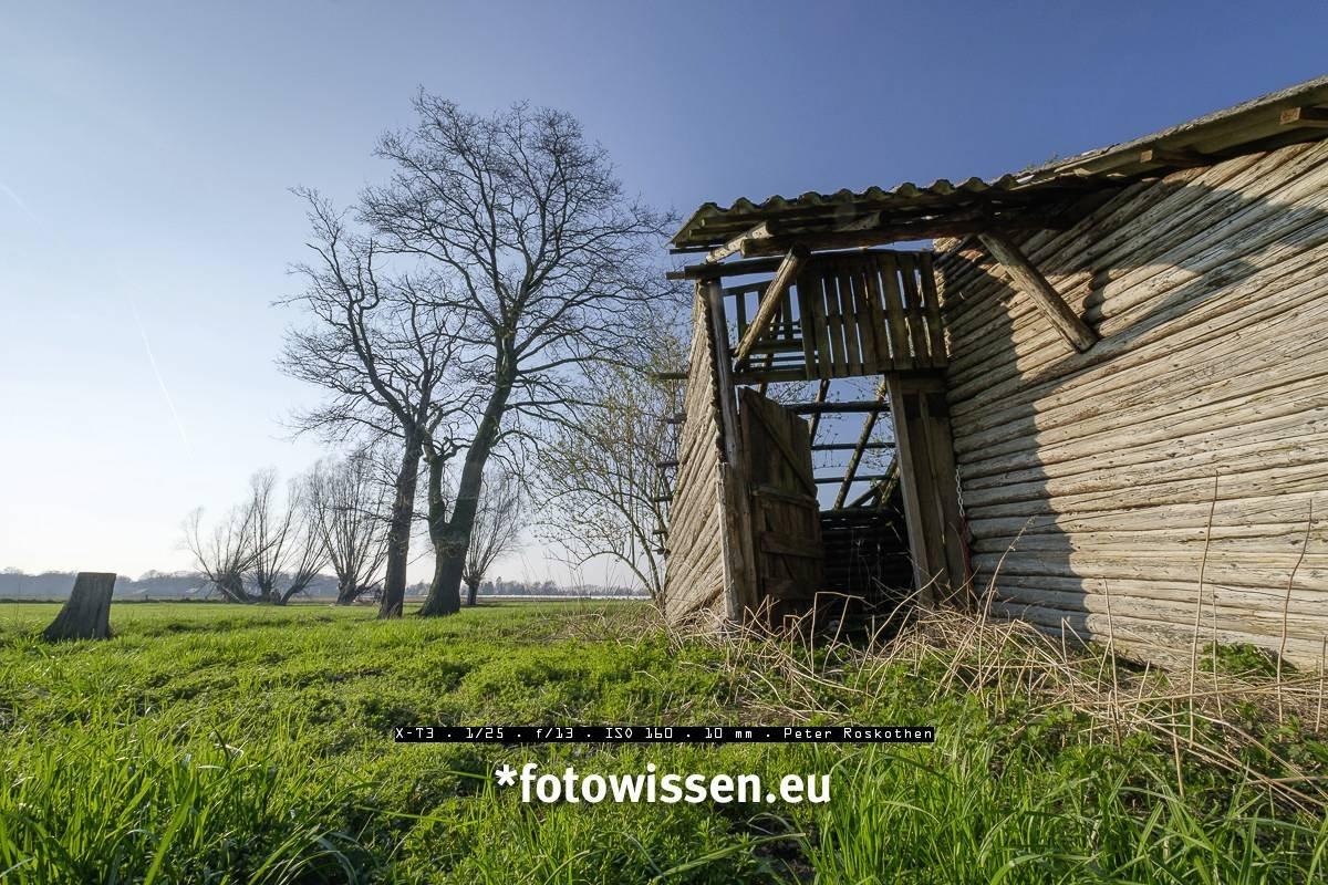 Vergleich super scharfe Landschaftsfotos - Foto mit Blende F13