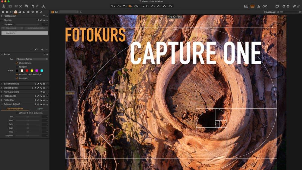 Fotoschulung Fotokurs Capture One Bildbearbeitung