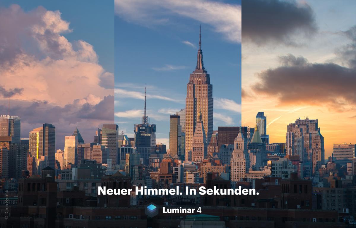 Luminar 4 - AI Sky Replacement