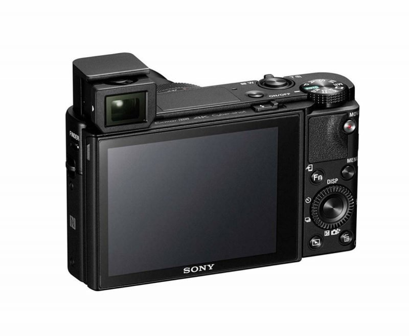 Der Sucher der Sony RX100VA