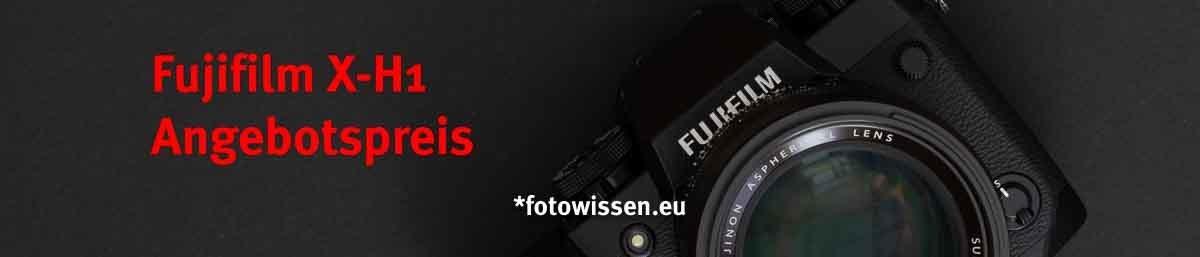Fujifilm X-H1 Angebot für unter EUR 1.000,-
