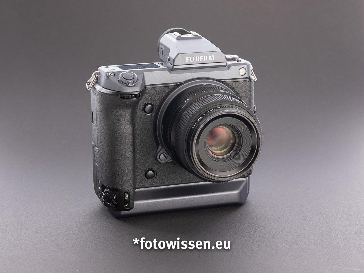 Test Fujifilm GFX 100 - Schickes Design?