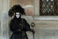 Karneval in Venedig 2019 Morgen