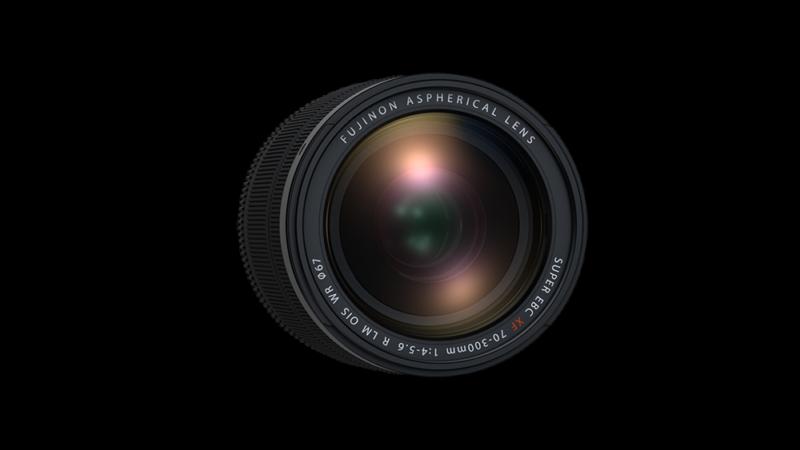 Telezoom Objektiv Fujifilm FUJINON XF70-300mmF4-5.6 R LM OIS WR von vorne