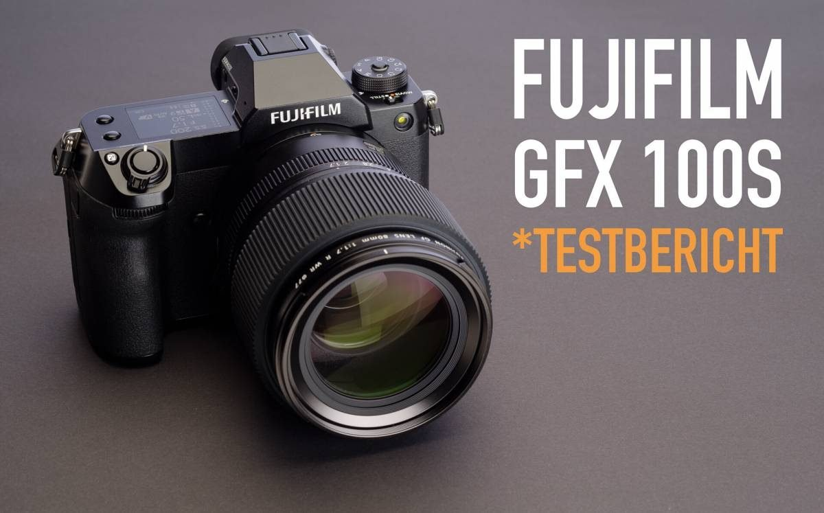 Video Test Fujifilm GFX 100S Mittelformatkamera