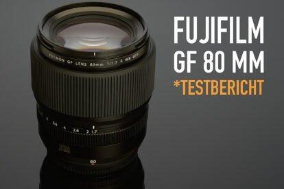 *fotowissen Test Fujifilm GF 80 mm F/1.7 R WR Testbericht