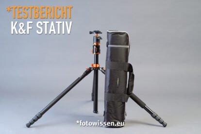 *fotowissen Testbericht K&F Stativ SA254T1