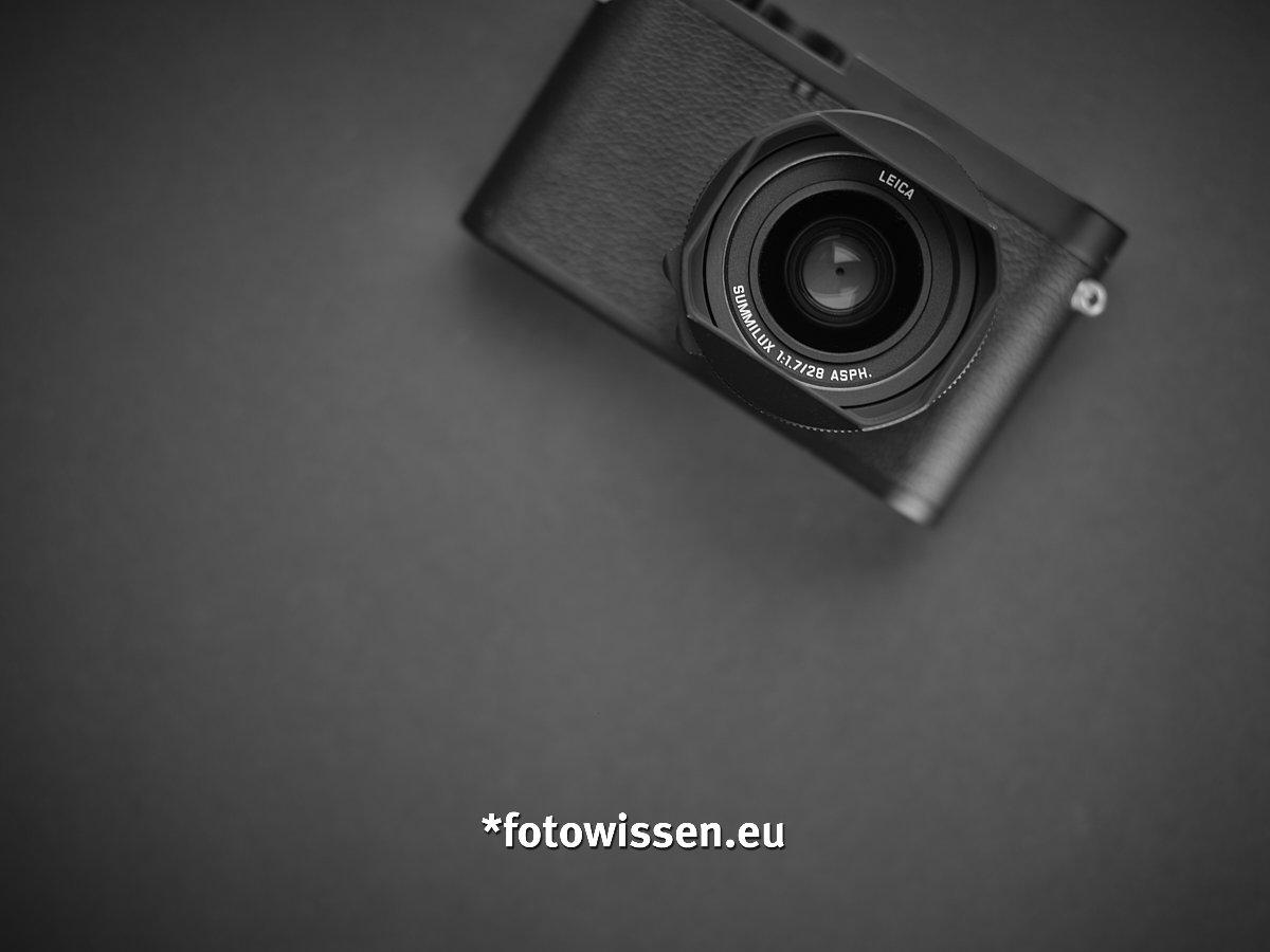 Leica Q2 Monochrom - Schwarzweiß digital