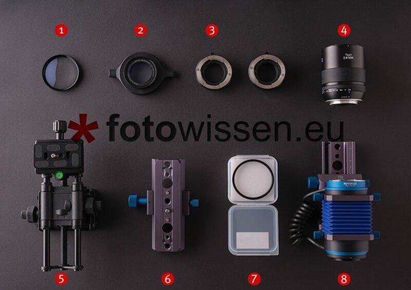Makrozubehör - Zubehör für die Makrofotografie - Anleitung für die Makrofotografie kleiner Dinge ganz groß