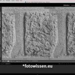 Vergleich Bildqualität Leica Q2 Monochrom (links) versus GFX 50S (rechts) Bildmitte