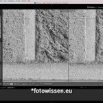 Vergleich Bildqualität Leica Q2 Monochrom versus GFX 50S Ausschnitt rechts unten
